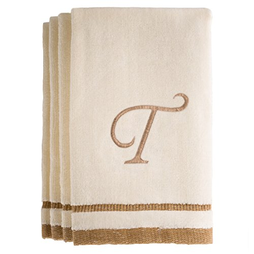 Monogrammed Gifts, Fingertip Towels, 11 x 18 Inches - Set of 4-...