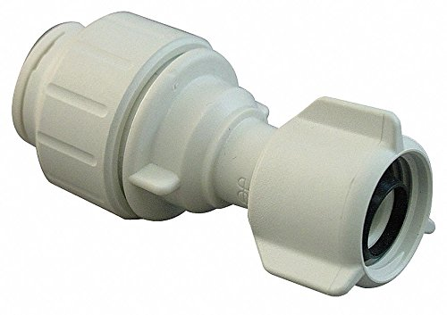 John Guest Speedfit PEISTC20C75 1/2-Inch CTS by 7/8-15/16 UNS Female Ballcock Connector, 10-Pack