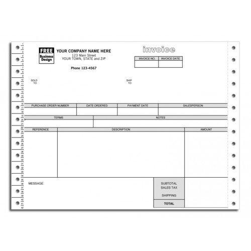 Continuous Invoice - 6