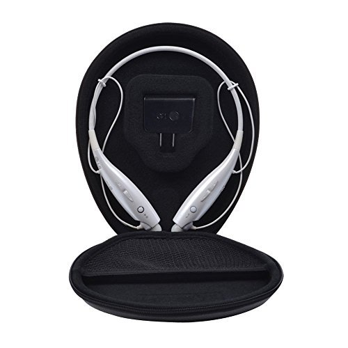 For LG Tone HBS-730 Wireless Stereo Headset Color Carrying Travel Case by Khanka