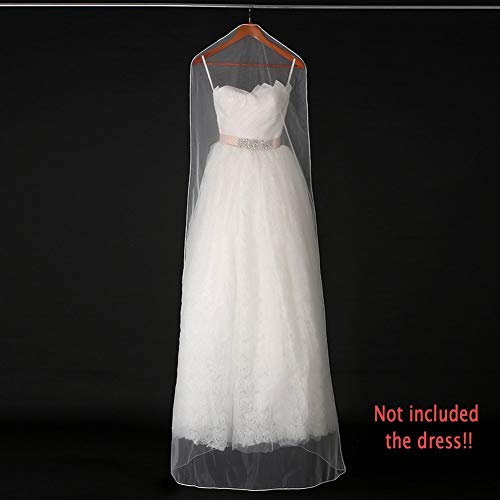 (Clothing Covers - Dust Cover Washable Wedding Dress Gauze Net Protection Cap Scratch Resistant Clothes Guard Reusable - Covers Suits Clothing Closet Protects Plastic)