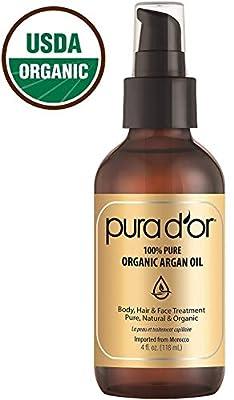 PURA D'OR Organic Moroccan Argan Oil