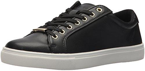 GUESS Men's Tracker Sneaker, Black, 7.5 Medium US from GUESS