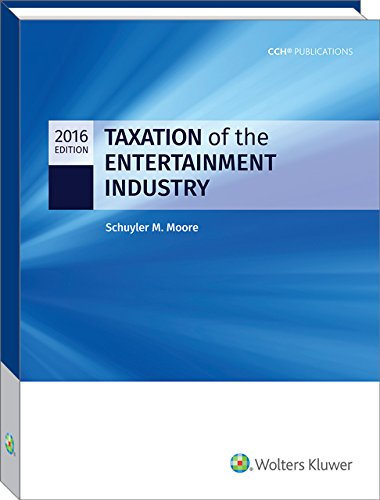 Taxation of the Entertainment Industry, 2016