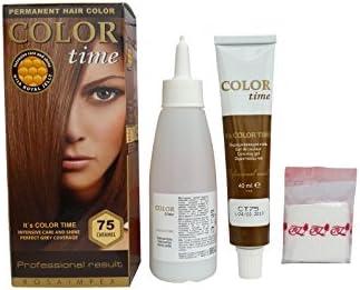 Pack Ahorro de 2 x Tintes Permanente para el Cabello de Color Caramelo 75