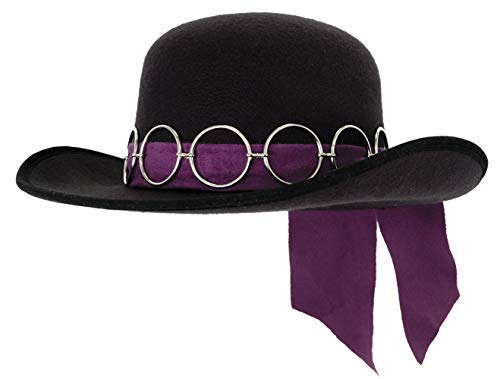 1960s – 70s Style Men's Hats elope Jimi Hendrix Costume Hat for Adult Men $29.95 AT vintagedancer.com