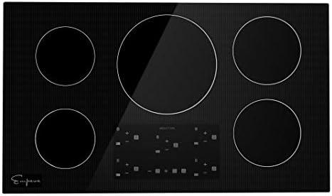 Amazon.com: Empava Placa de inducción, Negro: Aparatos