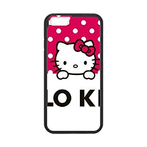 iPhone 6 4.7 Inch Cell Phone Case Black HK Pink Polka Dots OJ483212