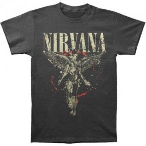 ill Rock Merch Nirvana - Galaxy In Utero T-Shirt (Small)