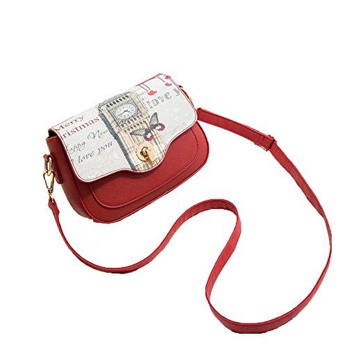 impresión de manera Bolso elegante bolso Un versátil bandolera hombro Bolso de C Exquisita hombro la A de casual xBSSgcY4qw