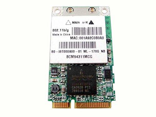 Broadcom Bcm4311 Bcm94311mcg Mini Pci-e Wireless Wifi Wlan Card Module Device 802.11g
