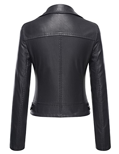 Tanming-Womens-Faux-Leather-Moto-Biker-Short-Coat-Jacket