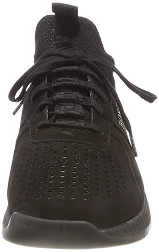 BOSS Homme Black Sneakers lux Athleisure Runn Noir 001 Basses Titanium rYHqrB