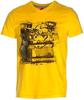 Camiseta Scuderia Ferrari Graphic Amarilla Talla S: Amazon.es: Deportes y aire libre