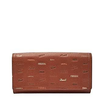 Fossil Women's Wallet, 7.63''L x 1''W x 4''H, Brown