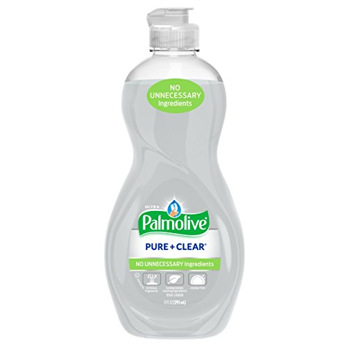Palmolive Ultra Dish Liquid, Pure and Clear, 10 (Palmolive Ultra Dish Liquid)