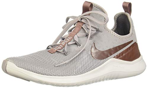 Nike Women's Free TR 8 LM Training Shoes (6.5, Grey/Mauve/MTLC) ()