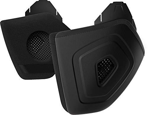 ABUS Unisex – Volwassene Earpads Black Helm Accessoires, Universeel