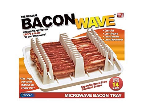 - Emson Bacon Wave, Microwave Bacon Cooker, New