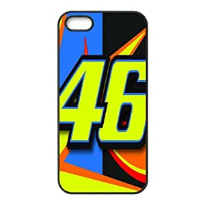iPhone 5,5S Phone Case pattern Valentino Rossi