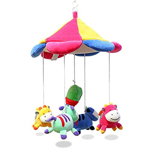 - Excellent Sales Musical Cot Mobile Baby Music Bedside Bell Cartoon Crib Hanging Bell Wind-Up Music Box Music Toys for Baby Can Transfer Songs with USB,Smartmusicbox(USB)