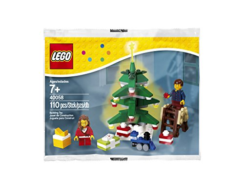 Lego 40058 Decorating the Tree Set 110 Pc. Holiday - Lego Christmas Decorations Tree
