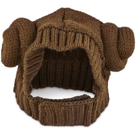 STAR WARS Knit Princess Leia Dog Hat, S/M  -