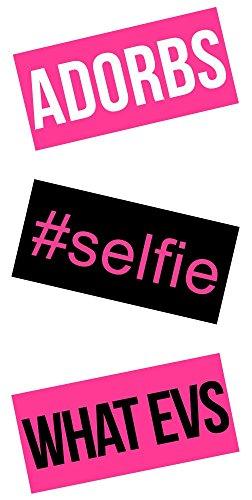iDecoz SELFIE Reusable Vinyl Decal Sticker Skin For ALL C...