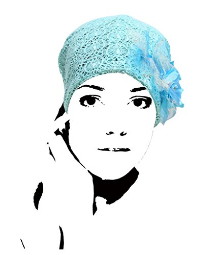 VVEEL Womens Flower Applique Beanie product image