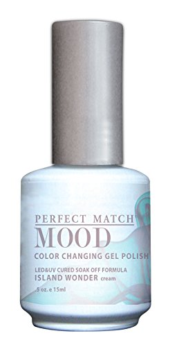 LECHAT Perfect Match Mood Gel Polish, Island Wonder, 0.500 Ounce