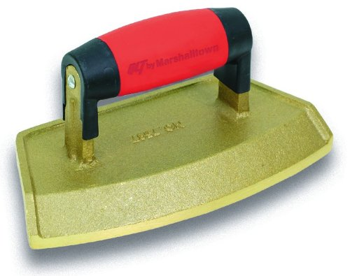 QLT By MARSHALLTOWN 7595 Bronze Chamfer Tube Edger-Soft Grip Handle-16-Inch Diameter; 3/4-Inch Lip by Qlt By Marshalltown