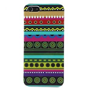 DUR Circular Eyes in Line Pattern Hard Case for iPhone 5/5S
