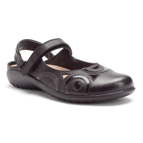 Leather Sandals Black Rongo Naot Womens TnYqwASxH7
