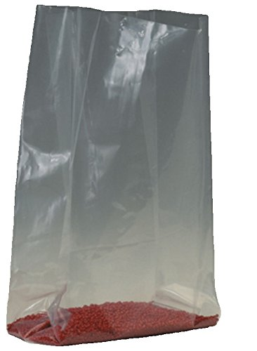 "Cheap Bauxko 10"" x 4"" x 20"" Gusseted Poly Bags, 1 Mil, 25-Pack (xPB1388-25) for sale"