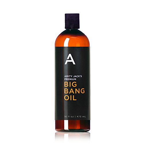 Personal Lubricant ~ Amity Jack's Premium BIG Bang Oil ~ BEST VALUE ~ Go Longer & More Often with Our New 16oz Sized Bottle. Silky Smooth, Long-lasting, Silicone-Based Lubricant 16 oz.(473ml) (Lube 16 Ounce Bottle)