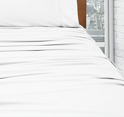 SHEEX DRIRELEASE Sheet Set with 2 Pillowcases (Queen, White) by SHEEX