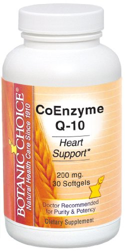 Botanic Choice coenzyme Q-10, 200 mg, 30-Count