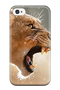 3581747K54729537 Top Quality Rugged Lion Case Cover For Iphone 4/4s