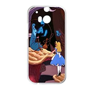 HTC One M8 Cell Phone Case White Alice in Wonderland Character Alice L0560621