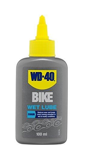 WD-40 BIKE 44687 100 ml Wet Chain Lubricant - Grey by WD40D
