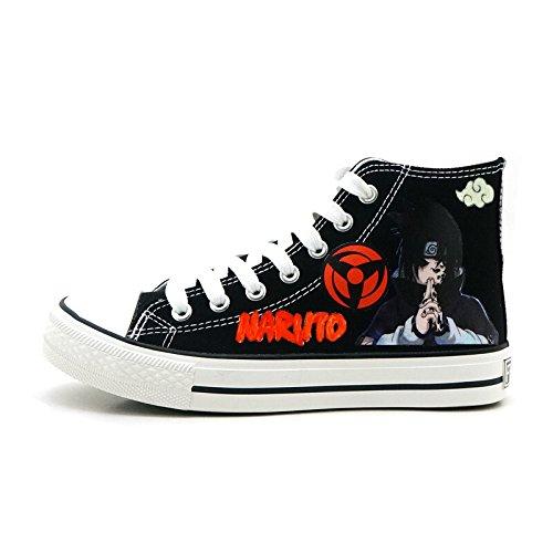 Naruto Anime Uchiha Sasuke Cosplay Skor Tygskor Sneakers