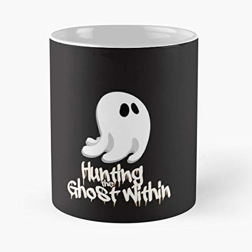Halloween Ghost Hunting Hunts - 11 Oz Coffee Mugs Unique Ceramic Novelty Cup, The Best Gift For Halloween. ()