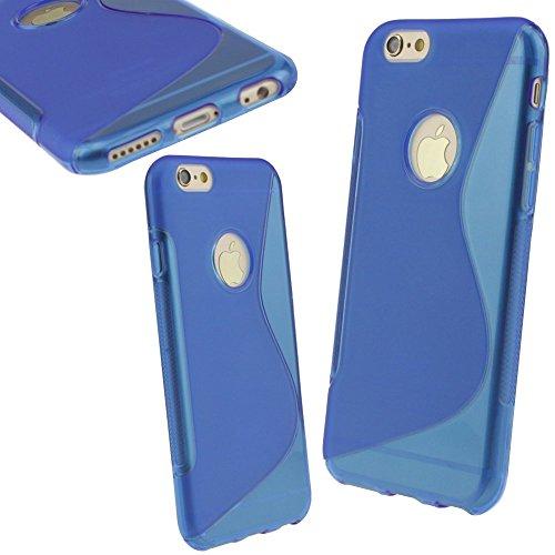 cTRON21 S-Line Case Apple iPhone 7 Plus Hülle Schutzhülle Blau