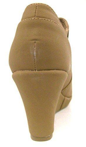 Top Moda Women's Rita-2 Bootie Tan 6.5 (Rita : Top Women Tops)