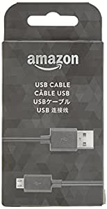 Amazon 5ft USB to Micro-USB Cable (works with most Micro-USB Tablets)