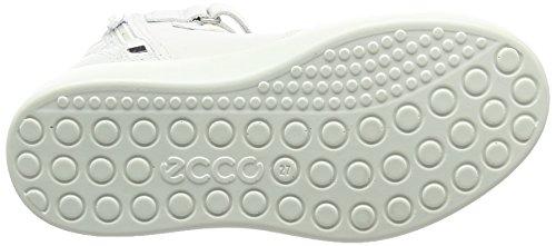 ECCO S7 Teen, Zapatillas Altas Para Niñas Blanco (11007white)