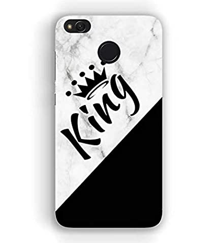 brand new 4427f 4f0f7 CREART King Name Design On Marble Designer Printed: Amazon.in ...
