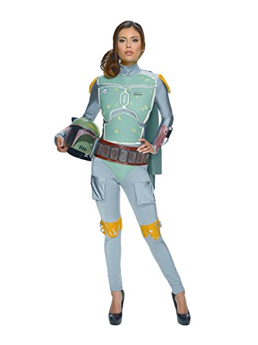 Rubie's Costume Women's Star Wars Boba Fett Woman's Deluxe Costume Jumpsuit, Multi, Small]()