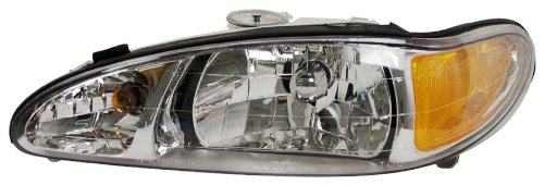 OE Replacement Ford Escort/Mercury Tracer Driver Side Headlight Assembly Composite (Partslink Number FO2502137)