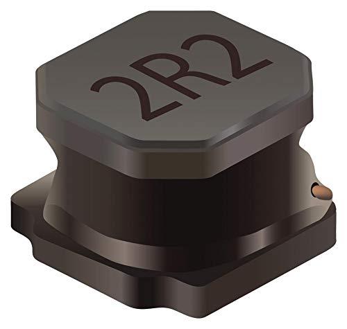 Inductor Power Semi-Shielded Wirewound 3.3uH 20/% 100KHz 20Q-Factor Ferrite 3.3A 27mOhm DCR 2020 T//R SRN5040-3R3M 50 Items